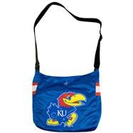 Kansas Jayhawks Messenger Bag: MVP Jersey Tote