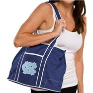 North Carolina Tar Heels Navy Hampton Canvas Tote
