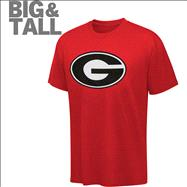 Georgia Bulldogs Big & Tall NCAA Logo T-Shirt