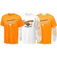 Tennessee Volunteers Youth Long Sleeve/Short Sleeve 3-in-1 T-Shirt Combo Pack