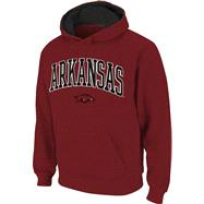 Arkansas Razorbacks Cardinal Tackle Twill Autumn Too Hooded Sweatshirt