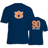 Nick Fairley #90 Name and Number Auburn Tigers Youth T-Shirt
