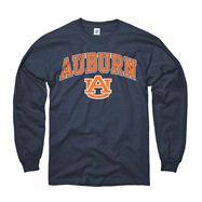 Auburn Tigers Navy Perennial II Long Sleeve T-Shirt