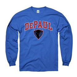 DePaul Blue Demons Royal Perennial II Long Sleeve T-Shirt