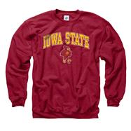 Iowa State Cyclones Cardinal Perennial II Crewneck Sweatshirt
