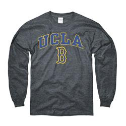 UCLA Bruins Dark Heather Perennial II Long Sleeve T-Shirt