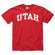 Utah Utes Youth Red Arch T-Shirt