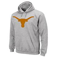 Texas Longhorns Grey Conquest Hooded Sweatshirt