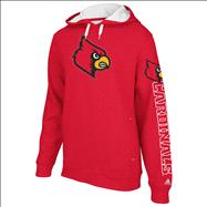 Louisville Cardinals Red adidas Spirit Hooded Sweatshirt