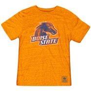 Boise State Broncos Heather Orange adidas Originals The Balboa Tri-Blend T-Shirt