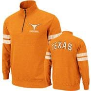 Texas Longhorns Tx Orange Flex 1/4 Zip Fleece Sweatshirt