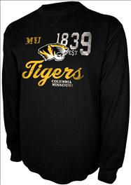 Missouri Tigers Black Gamebreaker Thermal