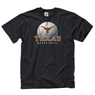Texas Longhorns Black Spirit Basketball T-Shirt