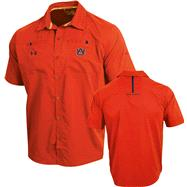 Auburn Tigers Orange Under Armour 2012 Football Sideline Contender Polo Shirt