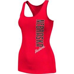 Nebraska Cornhuskers Red Women's Essential Fitness Tank Top