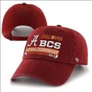 Alabama Crimson Tide '47 Brand Crimson 2013 BCS National Championship Game Bound Cleanup Adjustable Hat