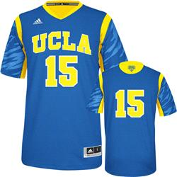 UCLA Bruins adidas Blue #15 2013 NCAA March Madness On Court Premier Basketball Jersey