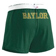 Baylor Bears Women's Dark Green Authentic Soffe Shorts
