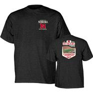 Nebraska Cornhuskers Football Exceptional History Dark Heather T-Shirt