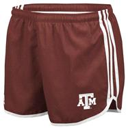 Texas A&M Aggies adidas Maroon Women's 3-Stripe Princess Shorts