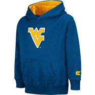 West Virginia Mountaineers Kids 4-7 Navy Automatic Hooded Sweatshirt