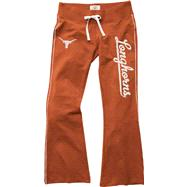 Texas Longhorns Women's Burnt Orange Stretch Pants
