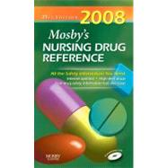 Mosby's 2008 Nursing Drug Reference,9780323047005