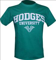 Hodges Name & Logo Green Tee