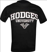 Hodges Name & Logo Black Tee