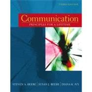 Communication: Principles for a Lifetime (Book alone)
