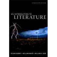 Introduction to Literature, an (with Writing about Argument : The Craft of Argument)