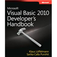 Microsoft Visual Basic 2010 Developer's Handbook, 9780735627055  