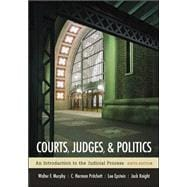Courts, Judges, and Politics,9780072977059