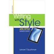 Writing with Style : APA Style Made Easy,9781285077062