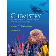Chemistry : An Introduction to General, Organic, and Biological Chemistry Value Pack (includes MasteringChemistry#8482; with MyeBook Student Access Kit and Lab Manual for Chemistry: an Introduction to General, Organic and Biological Chemistry),9780321597076