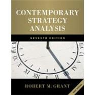 Contemporary Strategy Analysis: Text Only, 7th Edition,9780470747100