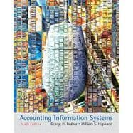 Accounting Information Systems,9780136097129