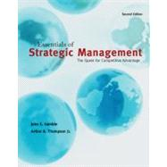 Essentials of Strategic Management: The Quest for Competitive Advantage,9780078137143