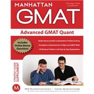 Advanced GMAT Quant, 9781935707158  