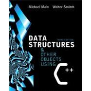 Data Structures and Other Objects Using C++,9780321197160