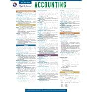 Accounting Quick Access Reference Card, 9780738607160  