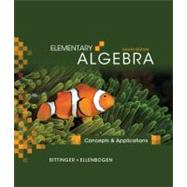 Elementary Algebra : Concepts and Applications, 9780321557179  