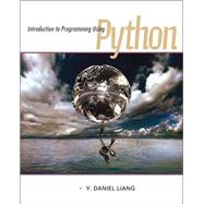 Introduction to Programming Using Python,9780132747189