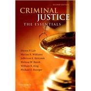 Criminal Justice The Essentials,9780199737192