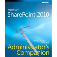 Microsoft Sharepoint 2010 Administrator's Companion, 9780735627208  