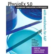 PhysioEx(TM) 5. 0 : Laboratory Simulations in Physiology CD-ROM Version,9780805357233