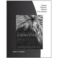 Student Solutions Manual for Oxtoby/Gillis' Principles of Modern Chemistry, 7th,9781111427245