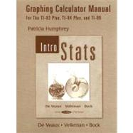 Graphing Calculator Manual: Intro Stats : For the TI-83 Plus, TI-84 Plus, and TI-89,9780321287250