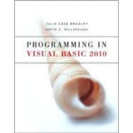 Programming in Visual Basic 2010, 9780073517254  