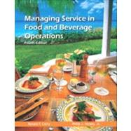 Managing Service in Food and Beverage Operations with Answer Sheet (EI),9780133097269
